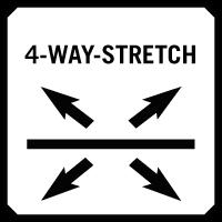 Four way stretch - Čtyřsměrný streč